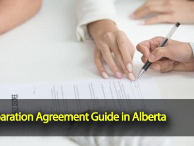 Separation Agreement Guide in Alberta